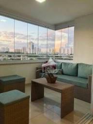 Título do anúncio: Apartamento com 3 dormitórios à venda, 106 m² - Ed. Vivart - Bosque da Saúde - Cuiabá/MT