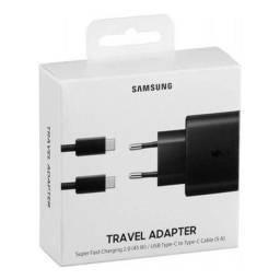 Carregador de viagem ultrarrápido Samsung 45W