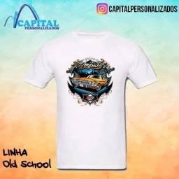 camisas com estampa old school