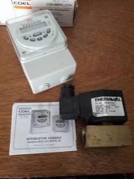 Controlador de fluxo eletrônico para liquidos