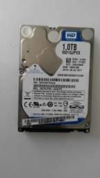 HD 1TB 1 Terabyte Western Digital Sata para notebook.