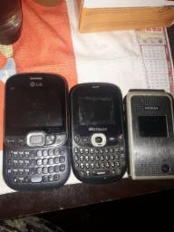 Vendo celulares antigo