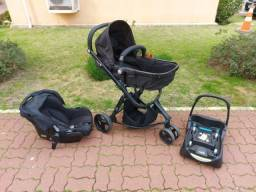 Carrinho Safety 1st + Bebê Conforto + acessório carro