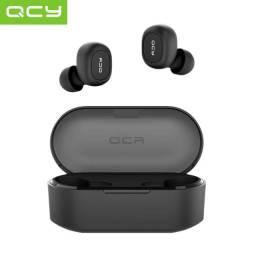 Fone de ouvido Bluetooth novo e original. QCY-T1C Bluetooth