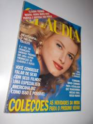 Revista Claudia Outubro 1990 Capa Adriana Novinsky
