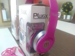 Fone de ouvido Plug x F-569