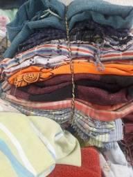 Vendo roupas de cama toalhas e lençóis peças
