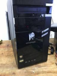 Computador Amd C-60 Radeon 1,00 Ghz, 4 Gb de Memória Ddr3, 320 Gb de Hd