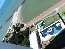 Beira Mar Clube Janga c/varanda 3 qts 1 suíte Garagem 17° frente mar