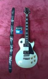 Guitarra Elétrica Les Paul Golden GLD Series + Acessórios