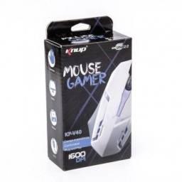 Mouse Gamer Knup Led Cores 3 Botões Usb Pc Xbox Playstation