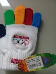 Souvenir Luvas da Olimpíada da Sochi 2014