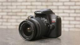 Câmera Canon T6 Com lente 18-55 + lente 75-300