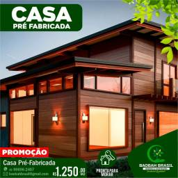 CASA PRÉ FABRICADA - CASA DE MADEIRA