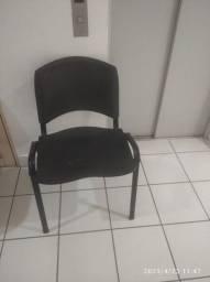 Conjunto de cadeiras semi-novo 3 cadeiras