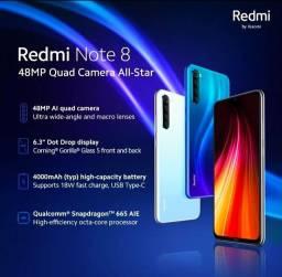 Vendo Xiaomi Redmi Note 8 lacrado na caixa.