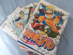 Mangás Naruto 1-65, 70-72