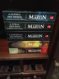 Coleção completa original Game of Thrones