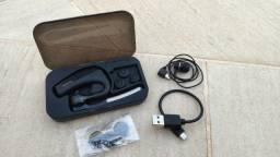 Headset Mirersi Bluetooth + Caixa Para Transporte