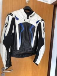Conjunto em couro macacão, luvas e Botas BMW Original