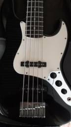 Baixo squier jazz bass