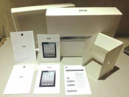 Manual e Caixa iPad