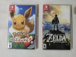 Zelda e Pokémon Nintendo Switch