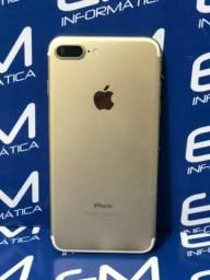 IPhone 7 Plus 32GB Gold - Seminovo - Com Garantia - loja Niterói