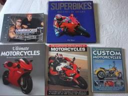 Motos (super bikes) - livros