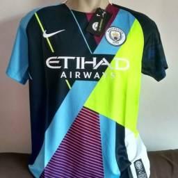 Camisa nike manchester city original 2019/20 comemorativa