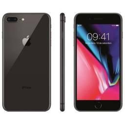 Vendo iPhone 8 Plus preto