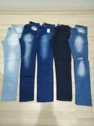 Promoção calças jeans masculinas 1 $60 ou 3 por $160