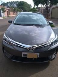 Corolla 1.8 GLI automático em perfeito estado (zerado) - 2018