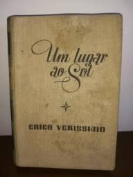 Livro antigo Érico Verríssimo romance um lugar ao sol 1940