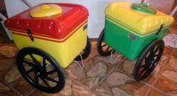 Dois carrinhos novos