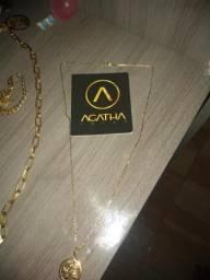 Vendo cordão de ouro barato zap 22974025400
