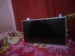 Televisão display queimado