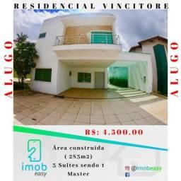 Alugo Cond. Residencial Vincitore 3 suites sendo 1 master (semi-mobiliado)