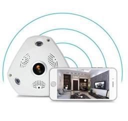 Câmera Wifi HD Panorâmica 360º c/ Áudio