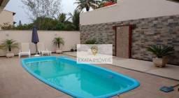 Casa linear (em terreno inteiro) com piscina, Ouro Verde, Rio das Ostras.