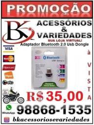 Adaptador Bluetooth 2.0 Usb Dongle Pc Notebook 2.0 Mini- - (Loja BK Variedades) Promoção