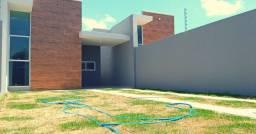 Casa plana 3 quartos no Eusébio