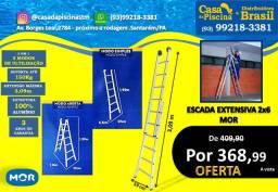 Escada Extensiva 2x6 mor