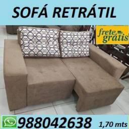 Frete Gratis e Entrega rapida!! Suoper Promoção Imperdivel de Sofa Retratil!!