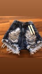 Shorts jeans 36 ao 38