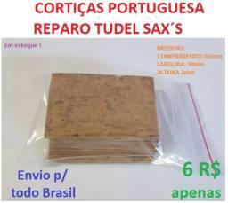 Cortiças Portuguesa Reparo Tudel para sax a partir de R$5