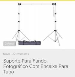 Kit Flash Profissional 3x Tocha Estúdio Greika 150w E Suport