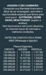 Crédito para Caminhão/Máquinas