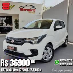 Smart Veículos - FIAT Mobi Like, 17/2018, 17.710 Km. R$ 36.900,00
