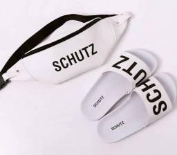 SCHUTZ -> Bag Premium + Chinelo.